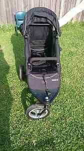 Valco Trimode-Ex Twin pram + toddler seat Glenfield Campbelltown Area Preview