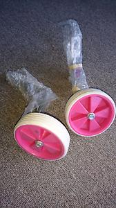 Pink training wheels Latrobe Latrobe Area Preview