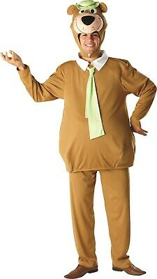 Herren Damen Yogi Bär Cartoon-Tv Lustig Tier Kostüm Kleid - Lustige Cartoon Kostüm