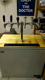 6 tap kegerator (free delivery!)