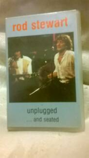Audio Cassette Rod Stewart Unplugged  1998  $2p&h Wallaroo Copper Coast Preview