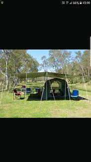 Tent and pole annex kit