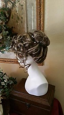 Regency Victorian  Edwardian  nutcracker  steampunk updo color choice moira wig - Steampunk Wigs