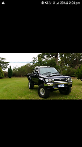 1992 Toyota Hilux 2.8L Diesel 4x4 Cygnet Huon Valley Preview