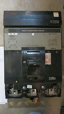 Square D Ma36350 350a 600v Grey Circuit Breaker -testedtest Reportwarranty