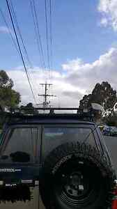 Gq patrol roof rack and awning Rowville Knox Area Preview