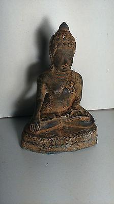 Old statue bouddha Asia. Ancienne statue Bouddha Asie BRONZE