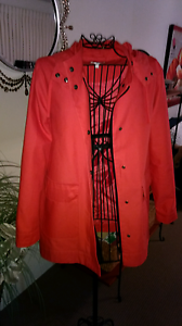 Coral Red Parka Southport Gold Coast City Preview