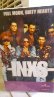 Audio Cassette. INXS Full Moon, Dirty Hearts. Wallaroo Copper Coast Preview