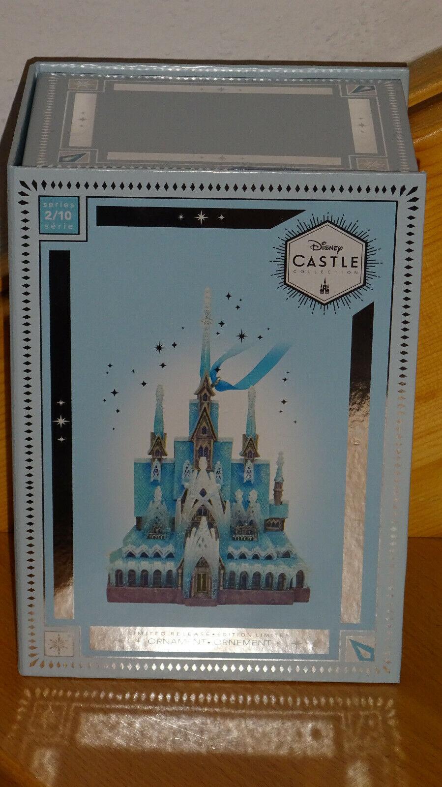 Disney Store Limited Castle Collection Arendelle Ornament Frozen Eiskönigin neu