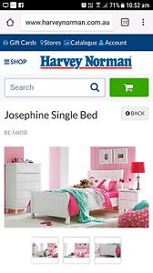Josephine single bed Singleton Singleton Area Preview