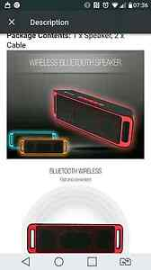 The wireless rectangle Bluetooth speaker with super bass stereo s Spotswood Hobsons Bay Area Preview