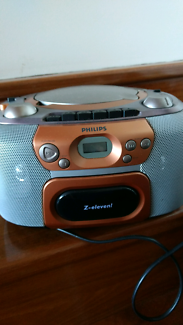 Philips radio, cassette and cd player