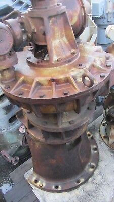 Coppus Engineering Steam Turbine Model Tfr-20 F 397 71bhph Reduction 4.111