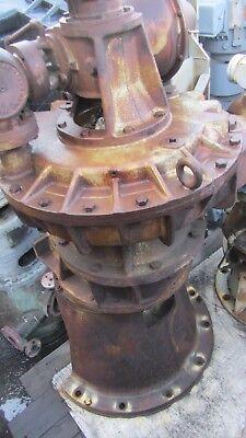 Coppus Engineering Steam Turbine Model Tfr-20 F 397 71bhph Reduction 4.111
