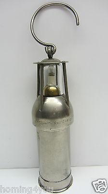 Original Reichsberufswettkampf 1935 Bergbau Gruben Lampe Auszeichnung