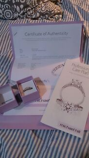 Reduced! Michael Hill white gold diamond ring St James Victoria Park Area Preview