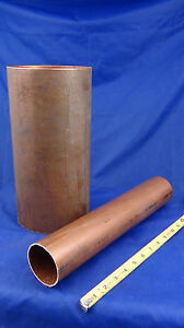 6 inch type l copper pipe by the inch ebay for Copper pipe vs pvc