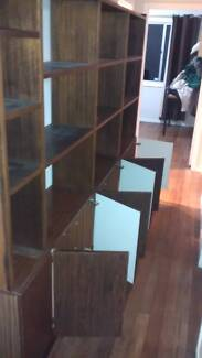 2.6M Long Bookcase/Shelving Unit ONE DAY ONLY (TUES) Inala Brisbane South West Preview