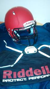 Football  chandails  + casque