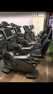Technogym Excite 700 Commercial Recumbent Bike (was $7,500 when n