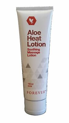 Forever Living Aloe HEAT LOTION Soothing Relief Pain Formula Aloe Vera 4oz. Aloe Vera Pain Relief