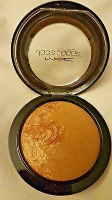 MAC Jade Jagger~Mineralize Skinfinish~SATIN Shimmer~Bronzer Shimmer LE GLOBAL