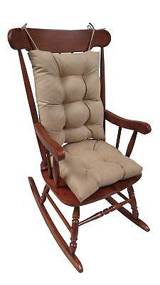 Klear Vu The Gripper Non-Slip Rocking Chair Cushion Set Hone