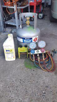 Automotive air conditioning regas, car, van, ute and truck. Springwood Logan Area Preview