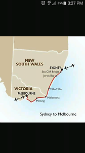 Lift for $80pp from Melbourne to Sydney on Wednesday the 24th May Southbank Melbourne City Preview