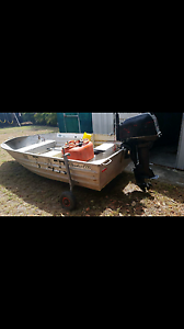 10 foot tinney tinny cartopper car topper 6hp tender Hawthorne Brisbane South East Preview