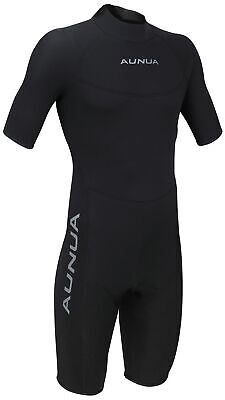 Mens 3mm Black Shorty Wetsuit Surfing Diving Scuba Neoprene Wetsuit ()