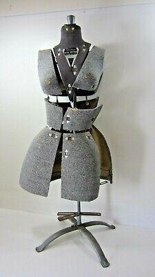Vintage Fairloom Push Button Adjustable Dress Form Size A - Damaged