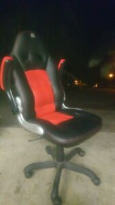 Office chair, Bathurst Racer, used, FREE