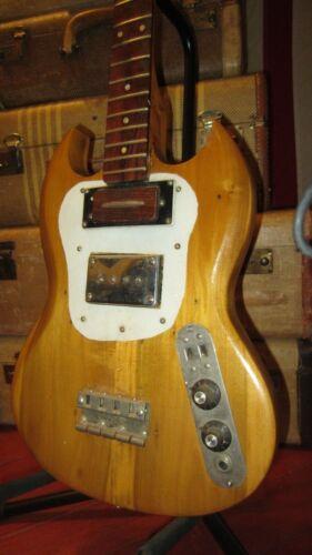 Vintage Gibson Circa 1971 SB Electric Bass Guitar Project Repair EB-0 Pickup