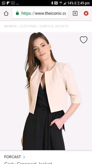 Crop jacket size 12