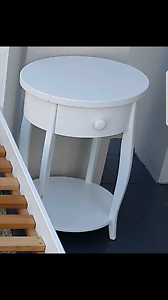 Bed side table.strong and beautiful . May deliver for small fee. Carlton Melbourne City Preview