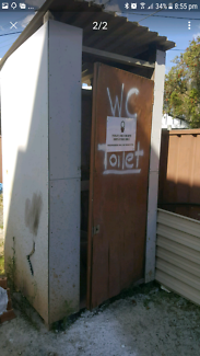 Toilet shed