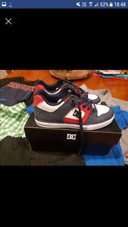 Boys DC shoes.
