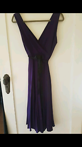 Szabo Purple Maternity Dress, Size12 and Maxi Size 10 Yarraville Maribyrnong Area Preview
