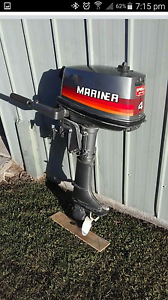 4 hp Mariner Outboard East Kempsey Kempsey Area Preview