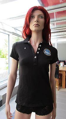 Gaastra- Poloshirt schwarz Gr. S mit diversen Labels gebraucht kaufen  Kelkheim
