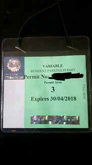 Parking permit Stonnington