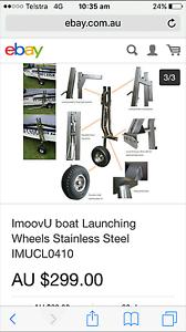 Boat launching wheels Gisborne Macedon Ranges Preview