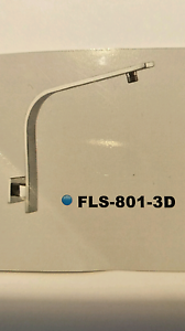 High Rise Square Shower Arm Mount Lewis Bankstown Area Preview