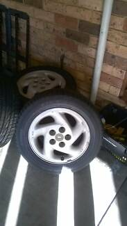 tyres and mags for Ford Telstar TX5 Hatchback Marayong Blacktown Area Preview