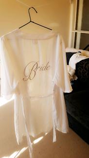 Wanted: Wedding robe BRIDE