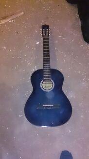 Ashton blue acoustic guitar  Cranbourne Casey Area Preview