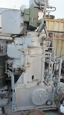 Shinko Steam Turbine For Ballast Pump Service Power 170kw228hp Type Rp600a