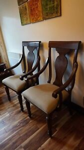 Two dinning chairs